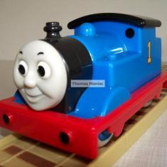 My First Thomas by Golden Bear Trenulet Thomas and Friends - Thomas ( CU SUNETE) locomotiva albastra cu nr.1 ( transport 2.6 RON la plata in avans ), Plastic, Unisex