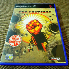 Joc Red Faction II, PS2, original, 14.99 lei(gamestore)! Alte sute de jocuri!, Actiune, 12+, Single player, Thq