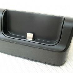 Dock iphone 5, 5S, negru - Dock telefon