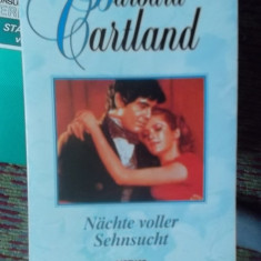CARTE IN GERMANA-NACHTE VOLLER SEHNDUCHT -BARBARA CARTLAND