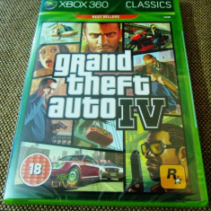 Joc Grand Theft Auto GTA IV, XBOX360, original si sigilat (gamestore)! - Jocuri Xbox 360, Actiune, 18+, Single player