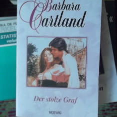 CARTE IN GERMANA-DER STOLZE GRAF -BARBARA CARTLAND