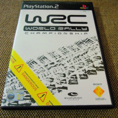 Joc WRC World Rally Championship, PS2, original, alte sute de jocuri! - Jocuri PS2 Sony, Curse auto-moto, 3+, Single player