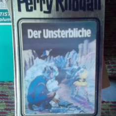 CARTE IN GERMANA-DER UNSTERBLICHE -PERRY RHODAN