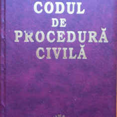 CODUL DE PROCEDURA CIVILA - Carte Drept civil