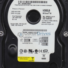 Vand HDD WD - 80Gb - Hard Disk Western Digital, 40-99 GB, Rotatii: 7200, IDE, 8 MB