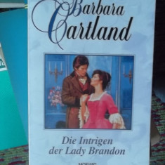 CARTE IN GERMANA-DIE INTRIGEN DER LADY BRANDON -BARBARA CARTLAND