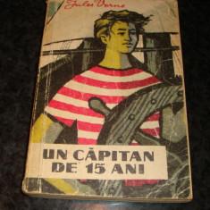 Jules Verne - Un capitan de 15 ani - 1960 - colectia Cutezatorii ( cu romb )