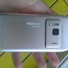 Nokia n8 16GB IMpecabil Schimb - Telefon mobil Nokia N8, Alb, Neblocat