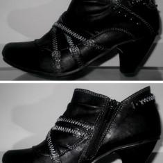 Botine pantofi dama MUSTANG 36 casual elegante fete femei transport inclus