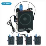 BOXA ACTIVA KARAOKE CU MICROFON INCLUS,MP3 PLAYER CU STICK SI CARD,ACUMULATOR INCLUS,RADIO FM, FUNCTIE INREGISTRARE PT.KARAOKE!