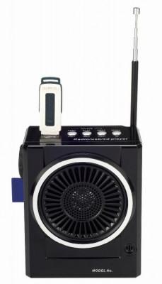 SISTEM KARAOKE COMPUS DIN BOXA ACTIVA,ACUMULATOR INCLUS,MP3 PLAYER STICK SI CARD,LANTERNA CU LEDURI SI MICROFON INCLUS. foto