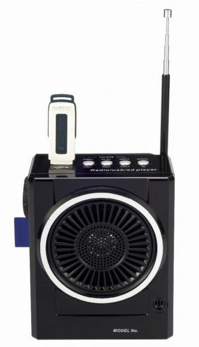 SISTEM KARAOKE COMPUS DIN BOXA ACTIVA,ACUMULATOR INCLUS,MP3 PLAYER STICK SI CARD,LANTERNA CU LEDURI SI MICROFON INCLUS.