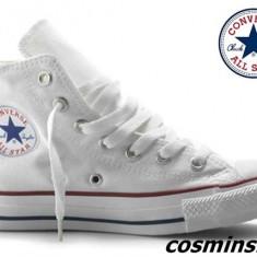 Bascheti / Tenisi CONVERSE ALL STAR * - Alb / Negru / Verde !!! - Tenisi barbati Converse, Marime: 39, 40, 44, Textil
