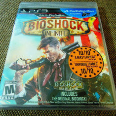 Joc Bioshock Infinite, PS3, original si sigilat, alte sute de jocuri! - Jocuri PS3 Altele, Shooting, 18+, Single player