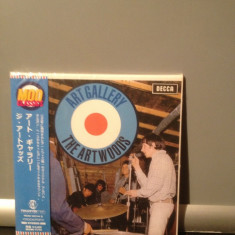THE ARTWOODS - ART GALLERY (1966/SONY REC/JAPAN ) - MINI CD-LP - NOU/SIGILAT, universal records