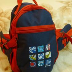 Borseta/geanta spate ranforsat; 2 compartimente, curele ajustabile; 30 x 20 cm