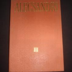 VASILE ALECSANDRI - OPERE volumul 3  POEZII POPULARE  {1978}