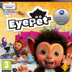 EyePet PS3 JOC ORIGINAL FULL English UK Zona 2 - Jocuri PS3 Ea Sports, Actiune, 3+