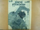 Ziarul stiintelor si al calatoriilor Nr. 45 1934 Aviatori romani de maine
