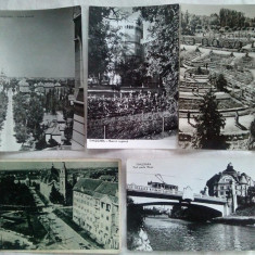Lot 5 carti postale circulate TIMISOARA R. P. R. - Carte Postala Banat dupa 1918, Circulata