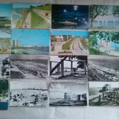 Lot 19 carti postale circulate CONSTANTA si LITORAL R.P.R. - Carte Postala Dobrogea dupa 1918, Circulata