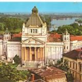 CPI (B3859) ARAD. PALATUL CULTURAL, EDITURA OSEDT, CIRCULATA, STAMPILA, TIMBRU IMPRIMAT - Carte Postala Crisana dupa 1918, Fotografie
