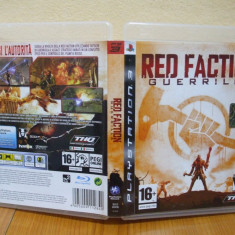 Red Faction: Guerrilla (PS3) (ALVio) + sute de alte Jocuri PS3 Thq ( VAND /SCHIMB ), Shooting, 16+