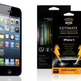 Folie protectie ecran ultrarezistenta BUFF Iphone 5C 5 C + cablu de date + expediere gratuita - Folie de protectie Apple