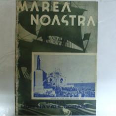 Marea Noastra Revista ligii navale romane Anul VI Nr. 9 Septembrie 1937