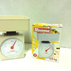 Cantar de bucatarie- KV 50   -Tescoma / greutate maxima 5 kg
