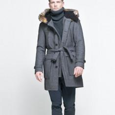 Palton ZARA Original! - Palton barbati Zara, Marime: XL, XL, Lana