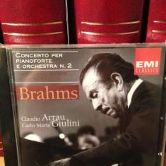 BRAHMS - Concerto Per Pianoforte/ Orchestra n 2 / C. Arrau (2001)-cd NOU/SIGILAT - Muzica Clasica emi records