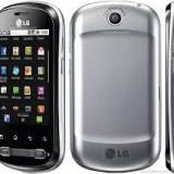 Lg Optimus Me(p350) - Telefon LG, Gri, Nu se aplica, Neblocat, Fara procesor