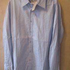 Camasa Marca GUESS Model slim fit 100% ORIGINALA Culoare Bleu Marime M cumparata SUA - Camasa barbati Guess, Marime: M, Maneca lunga