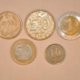 5 MONEDE DIFERITE - TURCIA