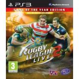 PE COMANDA Rugby League Live 2 GAME OF THE YEAR PS3 XBOX360 - Jocuri PS3, Sporturi, 3+, Multiplayer