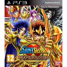 PE COMANDA Saint Seiya Brave Soldiers PS3 - Jocuri PS3 Namco Bandai Games, Arcade, 12+, Multiplayer