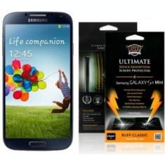 folie protectie ecran ultrarezistenta BUFF Samsung Galaxy s4 mini i9190 + folie protectie ecran + expediere gratuita
