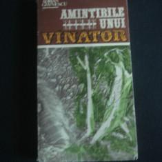 ADRIAN GHINESCU - AMINTIRILE UNUI VANATOR {1985}