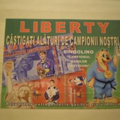 ROMANIA - LIBERTY - DIANA  MOCANU - DUBLA  CAMPIOANA  OLIMPICA  LA  INOT - NECIRCULATA .