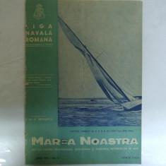 Marea Noastra Revista ligii navale romane Anul VIII Nr. 6  Iunie 1939