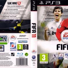 Joc original FIFA 11 pentru consola Sony PS3 Playstation 3 - Jocuri PS3 Ea Sports, Sporturi, Toate varstele, Multiplayer
