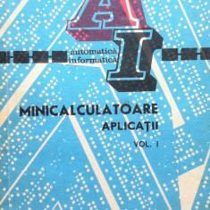 MINICALCULATOARE. APLICATII - Dodescu, Ionescu, Popescu, Popa (2 volume)