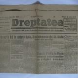 ZIARUL DREPTATEA DE VINERI 5 IULIE 1946