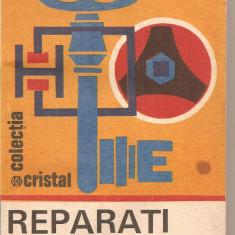 (C4545) REPARATI SINGURI DE VIOREL RADUCU, EDITURA ALBATROS, 1985 - Carte amenajari interioare