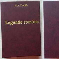V. A. Urechia , Legende romane , Cum era odinioara ; Reminiscente , 1904 , ed.1, Alta editura