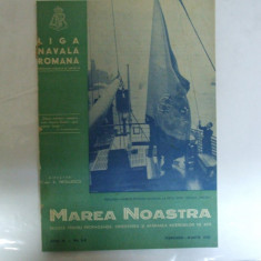 Marea Noastra Revista ligii navale romane Anul IX Nr. 2 - 3 Februarie - Martie 1940