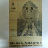 Marea Noastra pentru tineret Revista ligii navale romane Anul VIII Nr. 11 Aprilie 1940