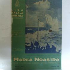 Marea Noastra Revista ligii navale romane Anul IX Nr. 1 Ianuarie 1940
